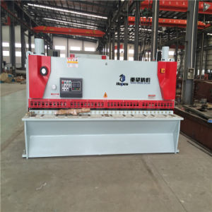 QC11k 6*4000 Hydraulic CNC Guillotine Shear pictures & photos