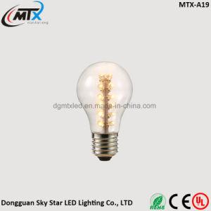 3W Warm White LED Decorative Lighting E26 E27 ST64 Bulb pictures & photos
