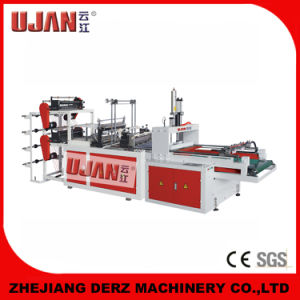 High Speed Automatic T-Shirt Bag Making Machine with Two Lines pictures & photos