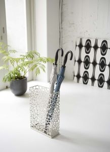 Metal Rectangle Shape White and Black Home and Office Decor Umbrella Holder pictures & photos