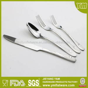 Good Quality Stainless Steel Cutlery Sanding Finish Flatware pictures & photos