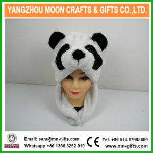 2017 Hot Sale Winter Plush Animal Panda Head Hat pictures & photos