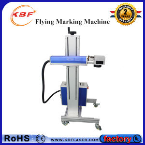 Produce Line Quick Mark Laser Machine for Food Package pictures & photos