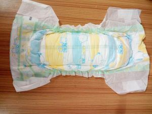 in Stock Baby Diaper with Lower Price and Good Quality (L)