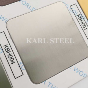 High Quality 410 Stainless Steel Color Ket008 Etched Sheet pictures & photos
