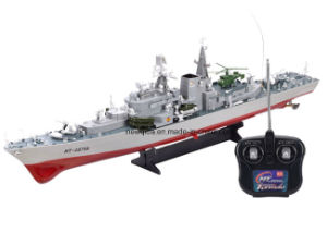Toy Destroyer Warship RC Boat Model 1/275 Remote Control Battleship Boat
