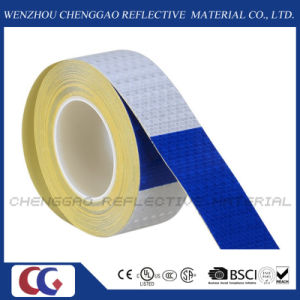 "Conspicuity 6"" Blue / 6"" White Reflective Safety Tape (C3500-B(D)) pictures & photos"