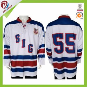 Breathable Custom Sublimated Team Set Hockey Jerseys pictures & photos