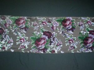 Silk Velvet Discharge Print with Burn out pictures & photos