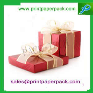 Fancy Handmade Custom Printed Paper Gift Confectionery Box for Chocolate / Cake pictures & photos