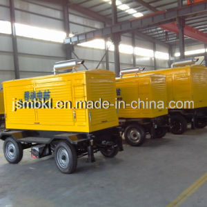 10-30kw Industrial Portable Trailer Type Diesel Generator Powered by Cummins, Perkins Engine (optional brands) pictures & photos