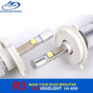 Car Accessory Automobile Car Headlight Fog Light 40W 4800lm High Power R3 LED Headlight Bulb H4 pictures & photos