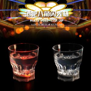 LED Flashing Big Octagonal Cup pictures & photos