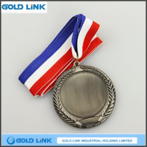 High Quality Antique Brass Medal Blank Medal Metal Crafts pictures & photos