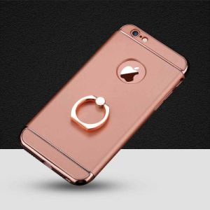 3 in 1 Electroplating Anti Fall Holder Phone Case for iPhone6/6s7/ 7 Plus/ 6plus