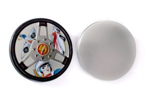 Round Mint Candy Tin Box pictures & photos