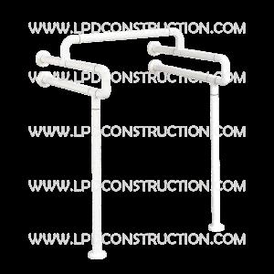 abs nylon wallfloor mounted handicap grab bars for urinal