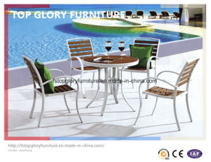 Outdoor Plastic Wood Aluminum/Alloy Dining Chair (TG-1755) pictures & photos