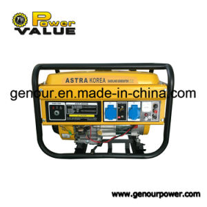5kw 5kVA for Honda Engine Portable Gasoline Generator with Ce pictures & photos