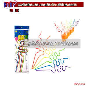 Home Store Super Flexible Straws Birthday Halloween Decoration (BO-5533) pictures & photos