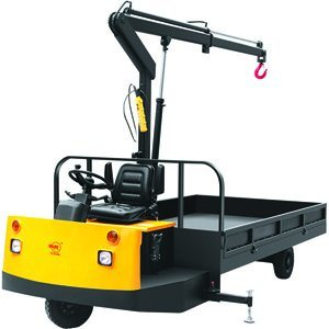 New Electric Truck with Crane for Sale pictures & photos
