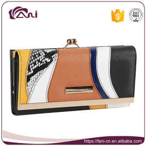 Fani OEM Girl Ladies Leather Wallet Credit Card Holder Slim Wallet pictures & photos