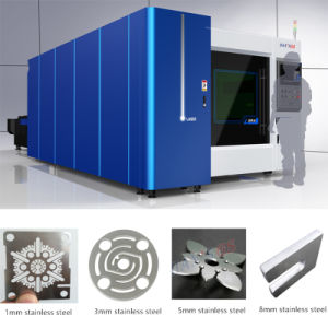 Higher Laser Power Fiber 3000W Metal Sheet Cutting Machine pictures & photos