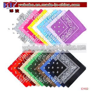 Cotton Bandanna Headwear Polyester Scarf Tie Christmas Gift (C1100) pictures & photos