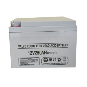 12V 250ah Solar Electric Power Accumulator Battery pictures & photos