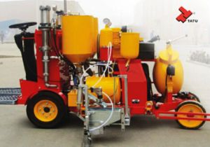 Self-Propelled Cold Paint and Cold Plastic Road Marking Machine pictures & photos