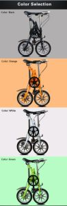Folding Bike Yz-6-14 Bicycle One Second Folding pictures & photos