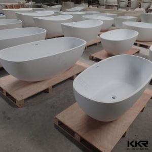 Kingkonree Oval Stone Bathtub Freestanding Solid Surface Bath pictures & photos
