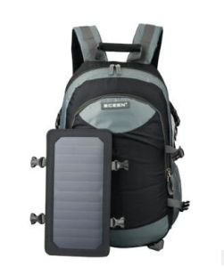 Green Energy High Capacity 7W Solar Charger Backpack for Mobile Phone iPad (SB-179) pictures & photos