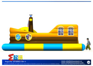 Inflatable Corsair with Ball Pool pictures & photos