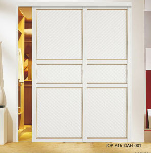 PVC Series Sliding Door (JOP-A16-DAH-001) pictures & photos