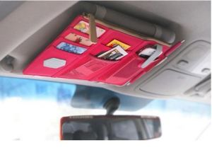 Fahion New Style Car Sun Visor Organizer (MU5682) pictures & photos