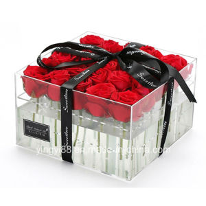 Factory Direct Selling Acrylic Flower Box pictures & photos
