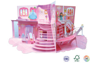 Pop-up Book /3D Book for Children Learning
