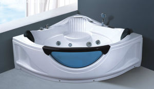 Hot Sales Massage Bath Bubble Bath Whirlpool Bathtub Nj-3015 pictures & photos