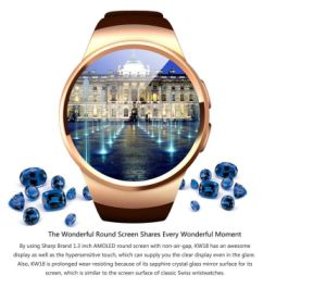 Kw18 Bluetooth Smart Watch Smartwatch Phone Support SIM TF Card Fitness Wristwatch pictures & photos