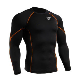 Dry Fit Men Lycra Gym Wear AMD118 pictures & photos