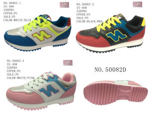 No. 50082 PU Outsole Women Casual Shoes pictures & photos