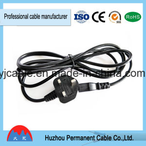 UK Power Extension Cord BS Power Cord with Fuse pictures & photos
