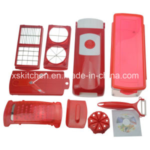 and Fruit Hand Shredder Plastic Manual Food Chopper Slice Dice