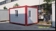Modern 20 Foot Low Cost Prefab Bed Accommodation Cheap Container Home pictures & photos