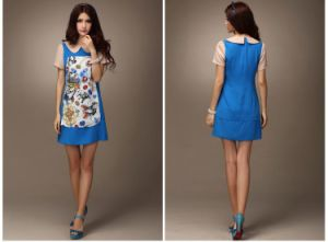 Lady Fashion Summer Dress (4017)