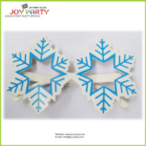 Snowflake Party Glasess for Christmas and New Year Promotion pictures & photos