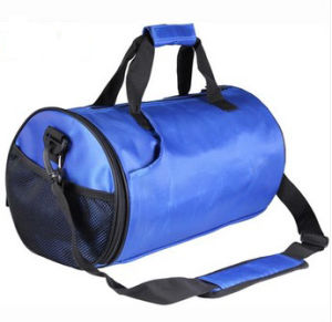 Custom Fashion New Blue Duffel Travel Gym Dance Bag pictures & photos