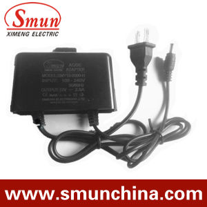 12V2a Black Rainproof AC/DC Adapter (SMY-12-2H) pictures & photos