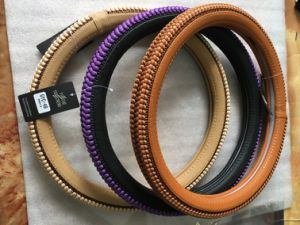 PU and PVC Car Steering Wheel Covers/ Car Decorates pictures & photos